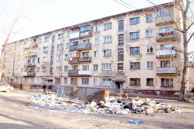 Омские дома ждут капитального ремонта.
