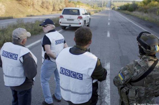 Миссия ОБСЕ в зоне АТО