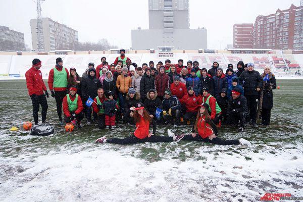 Пермский «Амкар» провел благотворительную акцию для подростков