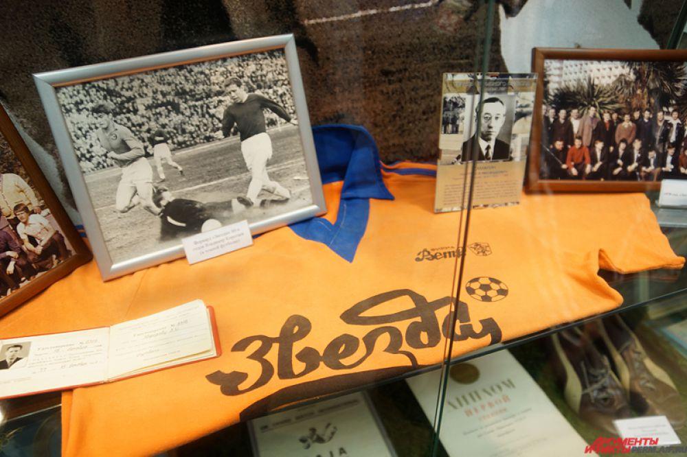 На экскурсии молодым людям рассказали подробную историю пермского футбола, которая насчитывает порядка 100 лет.