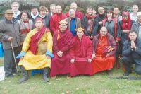 На ритуал приехали ламы из разных регионов и простые горожане.