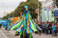 Парад уличных театров, Платоновский фестиваль-2014