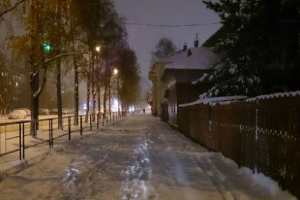 Вологда вечерняя