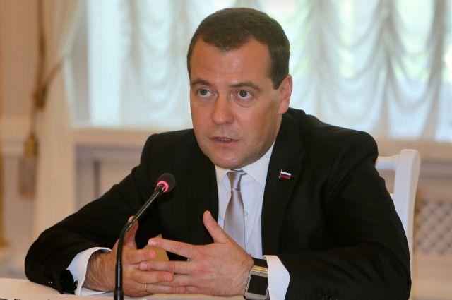 Федеральный премьер Дмитрий Медведев сегодня посетит Полевской