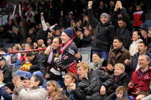 Омский «Авангард» не смог обыграть рижский «Динамо» в выездном матче