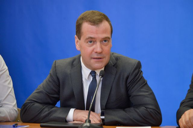 Дмитрий Медведев прибыл в Свердловскую область