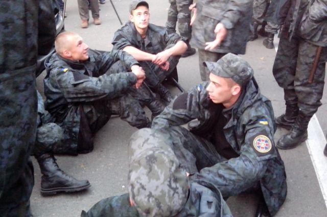 СБУ задержала организатора митинга Нацгвардии под АП