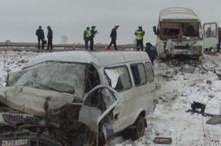 В утренней аварии на Красноярском тракте погиб 62-летний водитель «ГАЗели»