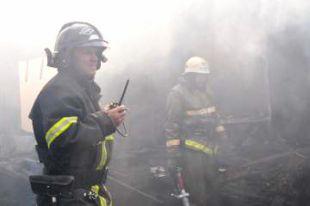 В Петропавловске пожарные спасли материальные ценности на 500 тысяч рублей