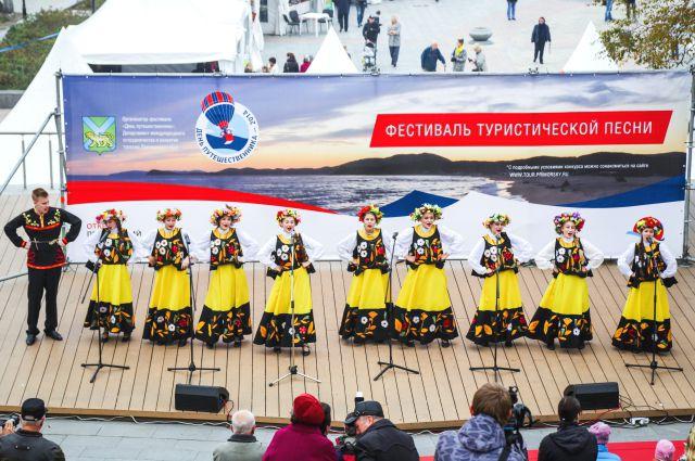 Для гостей праздника была организована концертная программа.
