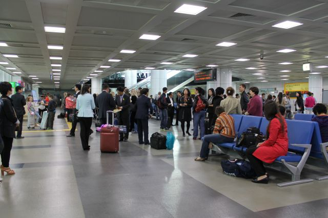 В аэропорту корейского города Янг-Ян