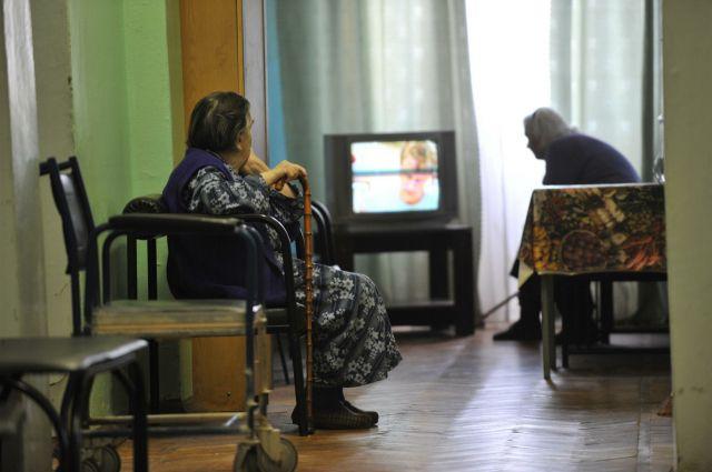 Обитатели пансионата для престарелых на Урале рисковали сгореть заживо