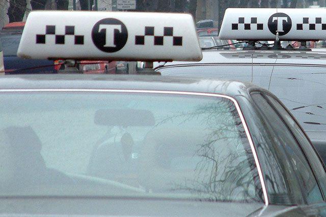 Угон такси закончился убийством водителя.