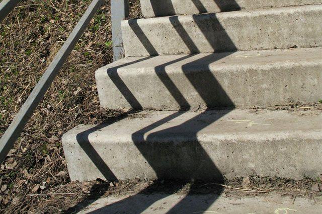 Недавно состоялось торжественное открытие лестницы в Иркутске.