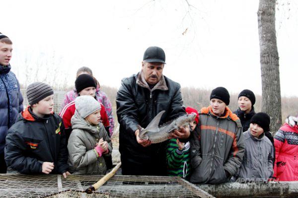 На мероприятие пригласили детей из города Ордынска.
