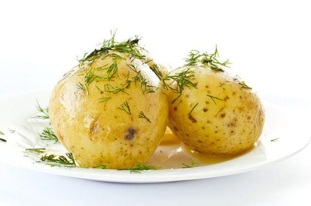 Что можно сделать из картофельного пюре на сковороде при диете