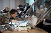 Подсчёт голосов по результатам выборов в Верховную Раду Украины.