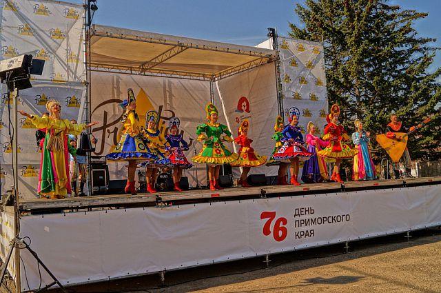 Народное веселье на фестивале «ПРИМotion-2014».