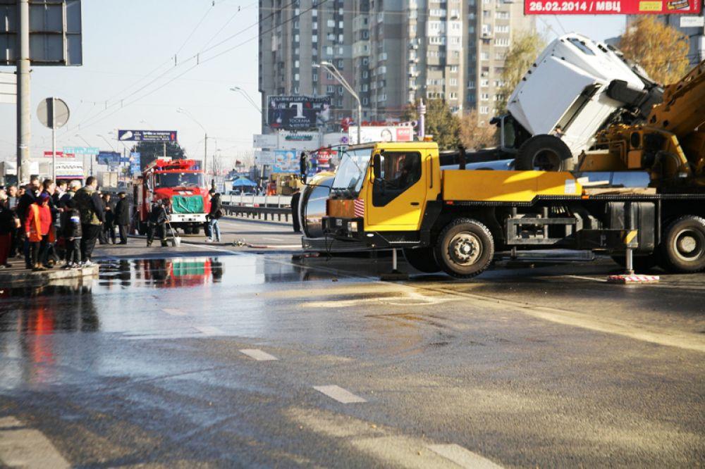 Масловоз на проспекте Победы