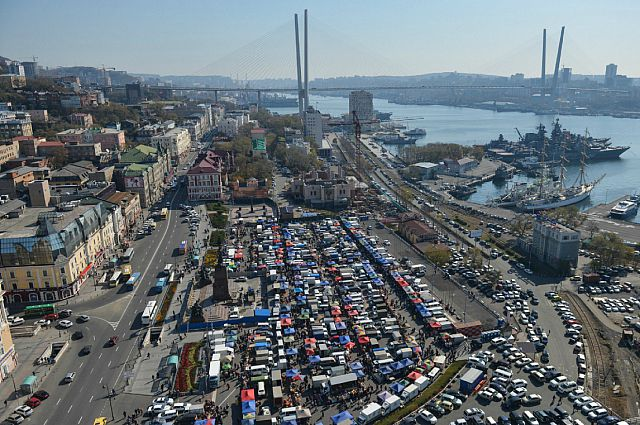 Владивосток в субботу.
