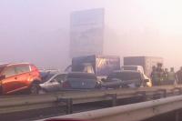 ДТП на выезде из Киева
