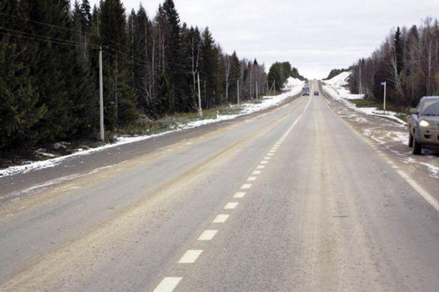 Трассу до с. Кочево сдали 16 октября этого года.