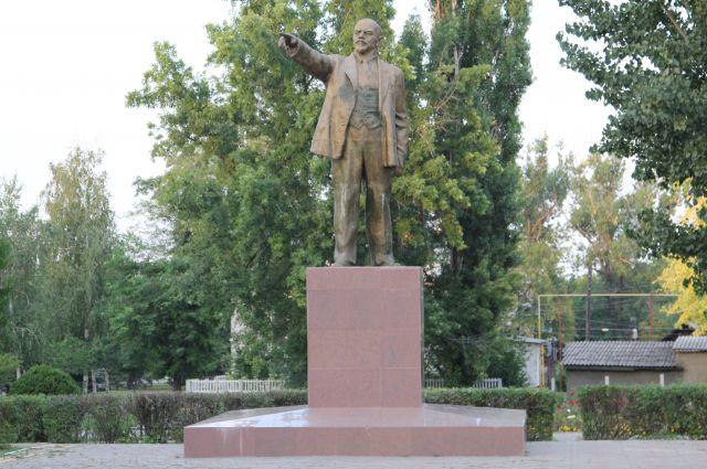 Памятники Ленину в Ростовской области охраняются законом