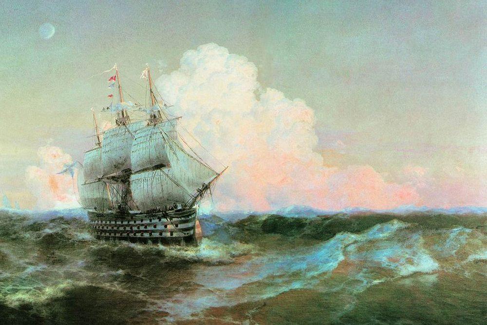«Двенадцать апостолов» — российский парусный линейный корабль I ранга, спущенный на воду в 1841 году. Фактическое число орудий на «Двенадцати апостолах» равнялось 130. Мощнейшими из них были 32 68-фунтовые пушки. Орудия стреляли как обычными сплошными ядрами, так и разрывными снарядами. Первым капитаном «Двенадцати апостолов» стал Владимир Алексеевич Корнилов. Входил в состав Черноморского флота. Во время обороны Севастополя был затоплен между Николаевской и Михайловской батареями.