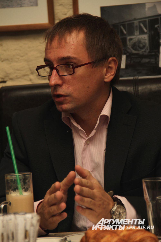 Сергей Киреев, руководитель отдела продаж компании «Элан-Моторс».