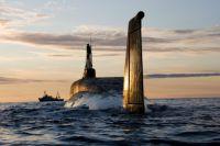 Атомная подводная лодка (АПЛ) «Юрий Долгорукий».