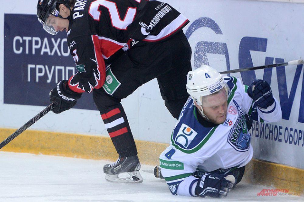 «Авангард» выиграл в матче против «Югры».