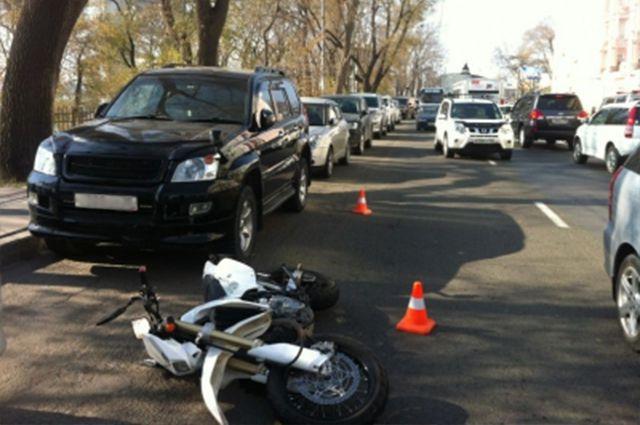 ДТП произошло на улице Светланской.