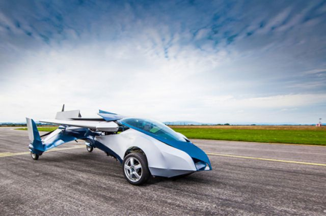 Аэромобиль Flying Roadster 3.0