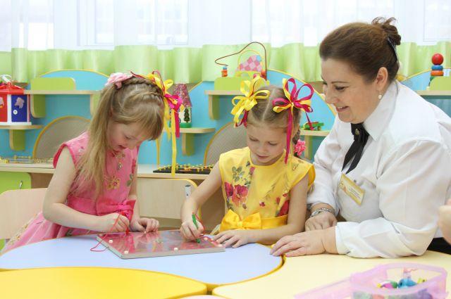 Новые рабочие места с открытием детского сада получили 40 специалистов.