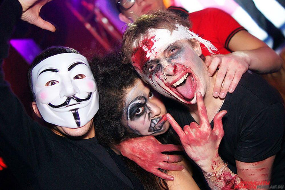 Безусловно, образ зомби - классика в Хэллоуин.