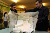 Подсчет голосов на участке