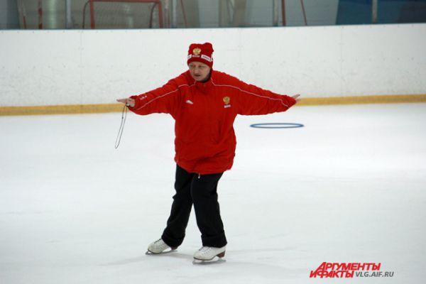 Первый тренер Евгения Плющенко и Максима Маринина Татьяна Скала.