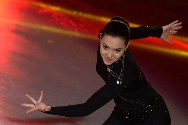 Чемпионка XXII зимних Олимпийских игр вСочи, фигуристка Аделина Сотникова.