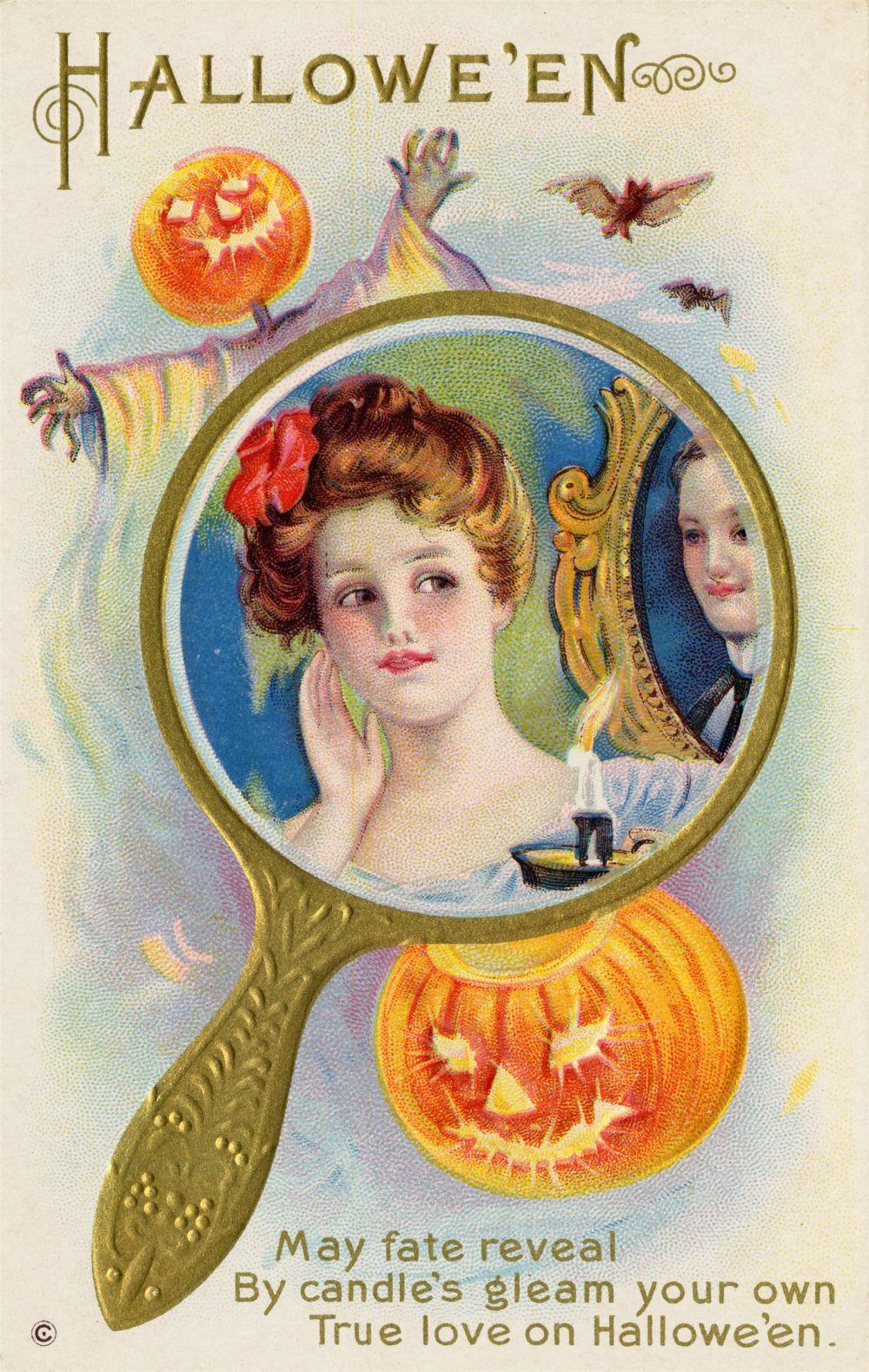 Магия Хэллоуина – твоя настоящая любовь покажется в зеркале