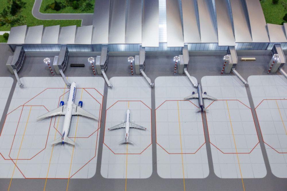 Авиабоксы самолетов (макет)
