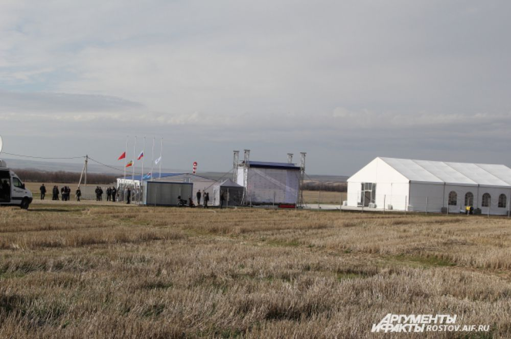 Аэропорт строится на полях, где выращивали хлеб - это хороший знак
