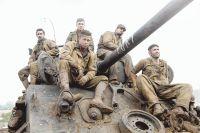 В танке Брэду Питту пришлось буквально жить.