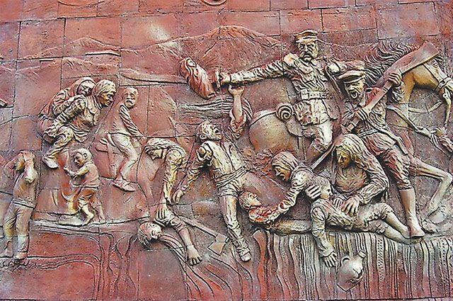 Фрагмент барельефа из Эрзурума: то, чего не было.