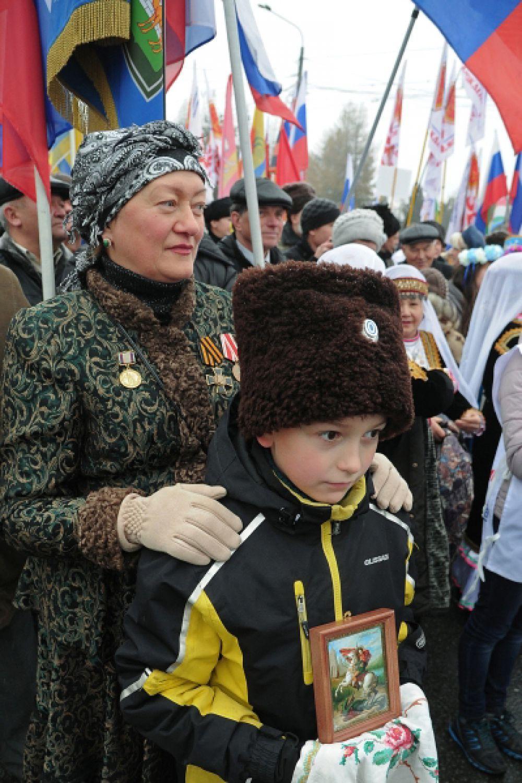 «Русский марш» в Челябинске.