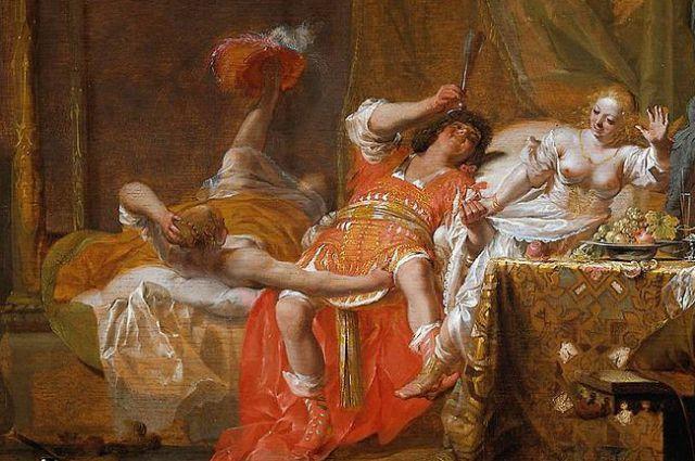 Николаус Кнюпфер. Сцена в борделе. Ок. 1650.