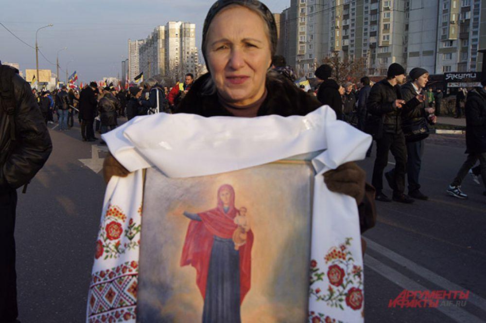«Русский марш» в Москве.
