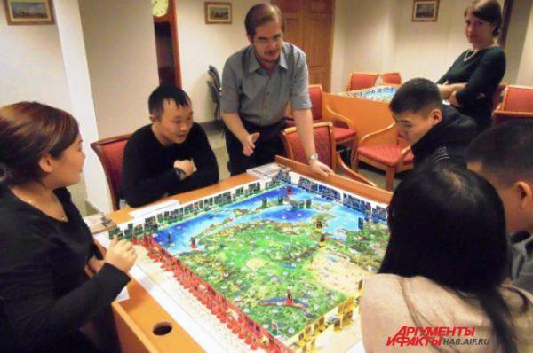 Настольная игра по историческим событиям на Дальнем Востоке