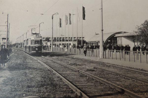 Остановка «Центральный стадион».