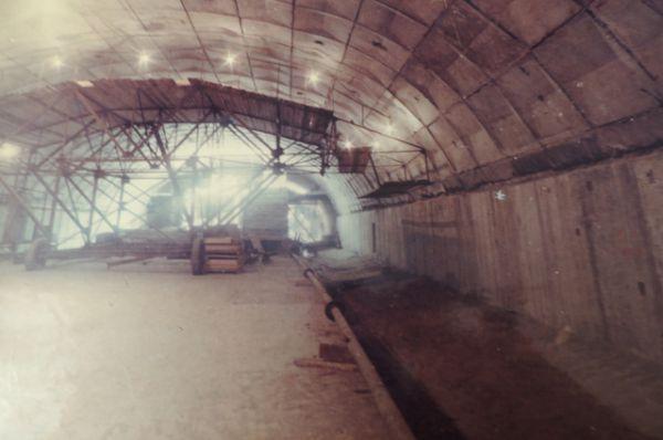 Строительство станции «Площадь Ленина». Август, 1980 г.