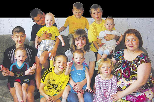 Семья Вафиных.